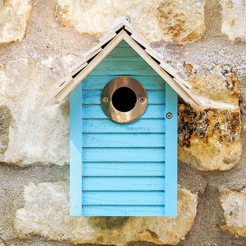New England fågelholk, Blue-Fågelholk, design new england