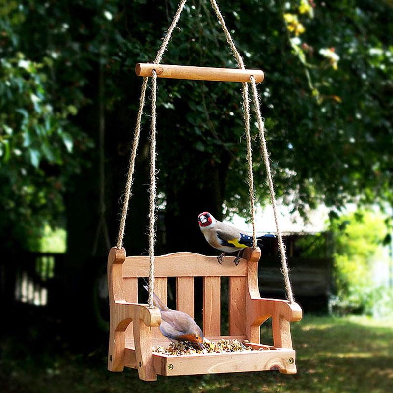 Fågelbord - Swing, Fågelbord - fågelgunga