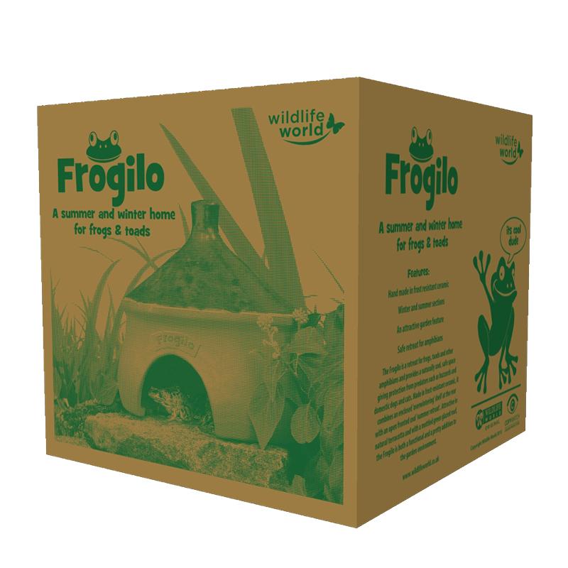 Grodhus - Frogilo Frog & Toad home, Paddhus - Bo och övervintring