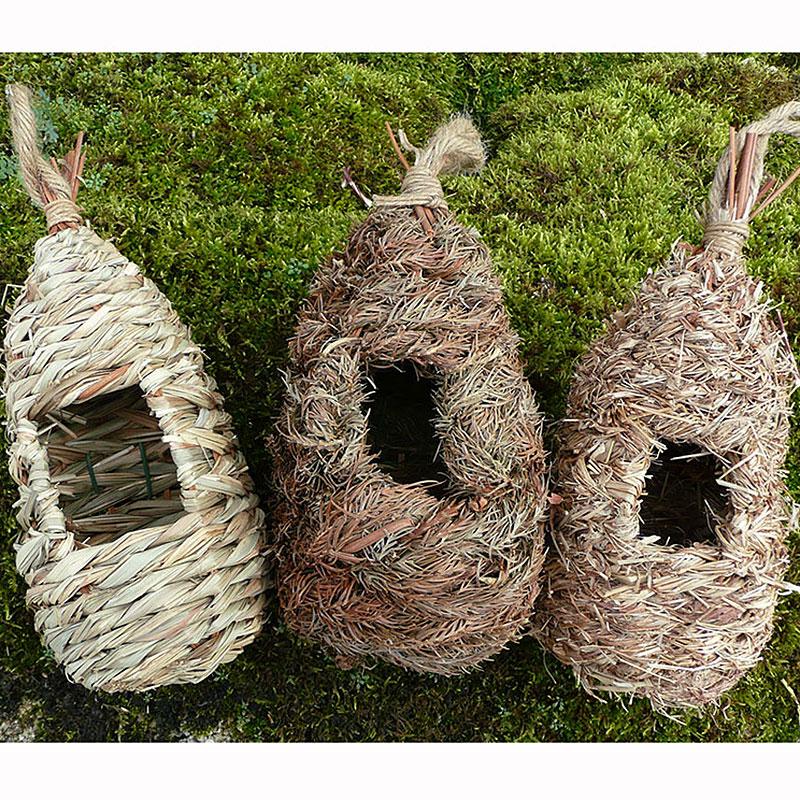 Rosting Nest Pocket, Fågelbo-Fågelholk i naturmaterial