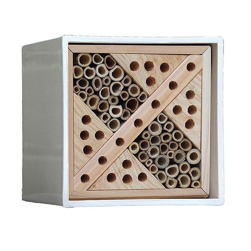 Urban Bee Box -Urban Insektshotell för solitärbin