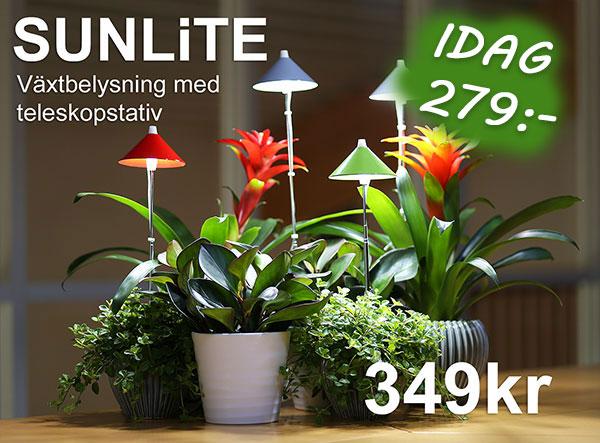 Sunlite - specialbelysning för växter