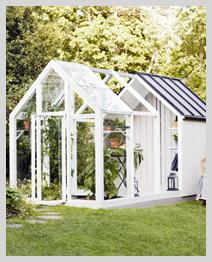 Växthus - Trädgårdslider