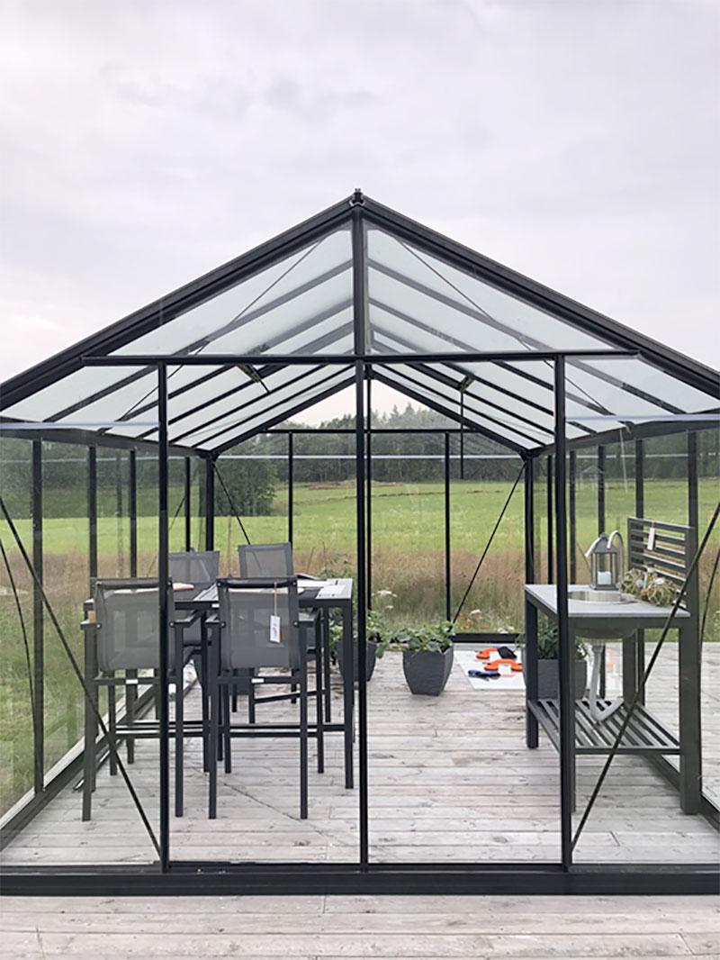 Växthusutställning i Stömstad Nordby Fritid