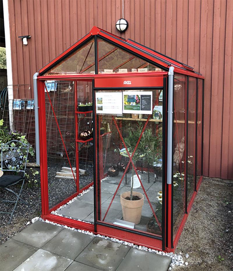 Växthusutställning hos Ösmo Plantshop